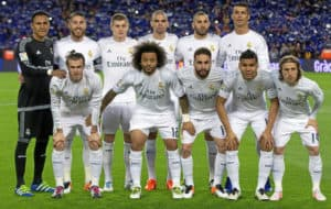 Equipo del Real Madrid